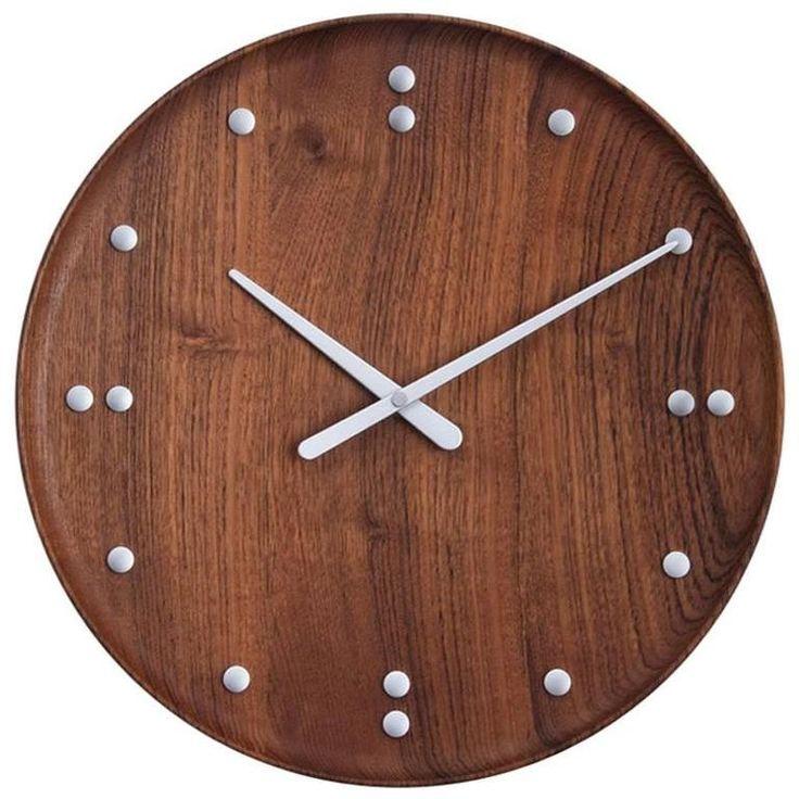 Reproduction Wall Clock by Finn Juhl for Architectmade/UN Building ca.1950/2015