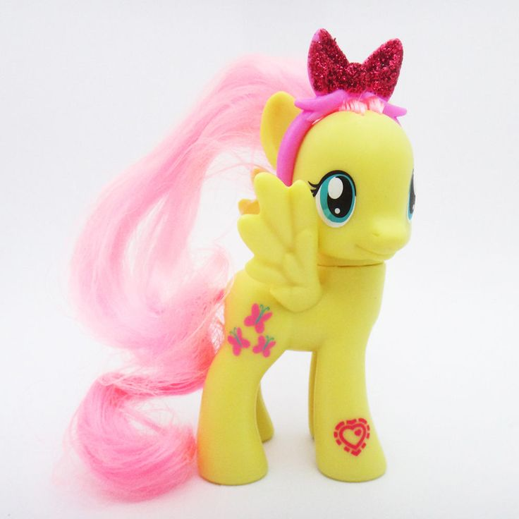 "Hasbro My Little Pony 9cm 3.5"" Figure Cutie Mark Magic Friends Asst Fluttershy #Hasbro"