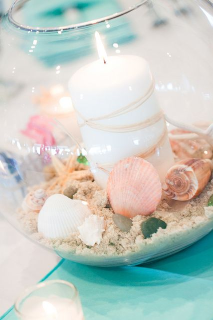 beach centerpiece