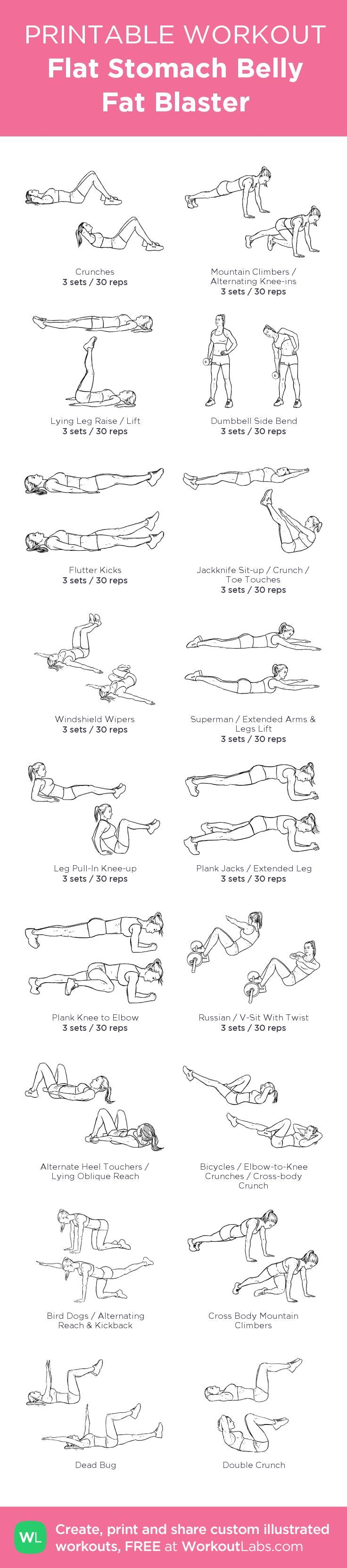 See more here ► https://www.youtube.com/watch?v=t6ic0NKYUMU Tags: how to lose belly fat naturally - Bethany's Flat Stomach Belly Fat Blaster: my visual workout created at WorkoutLabs.com • Click through to customize and download as a FREE PDF! #customworkout