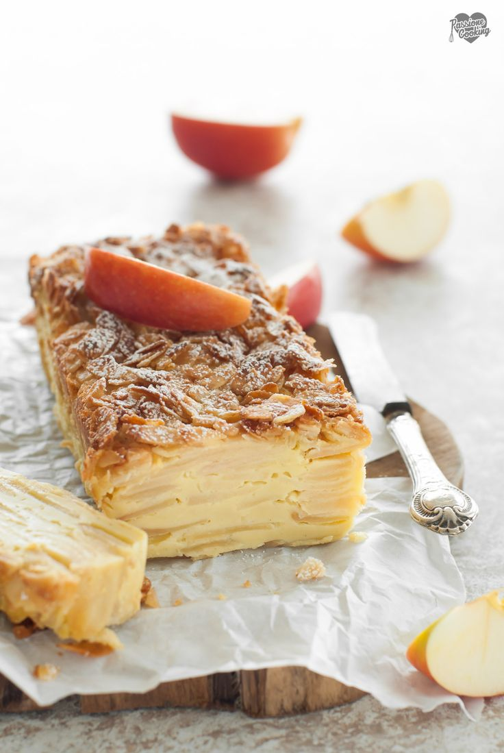 Torta di mele invisibile  Invisible apple cake