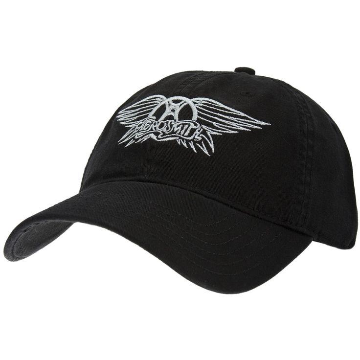 aerosmith wings logo adjustable baseball cap oldglory