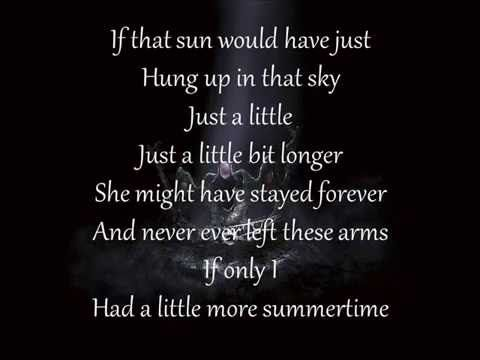 Jason Aldean - A Little More Summertime - PU - i needed a little more summertime!!