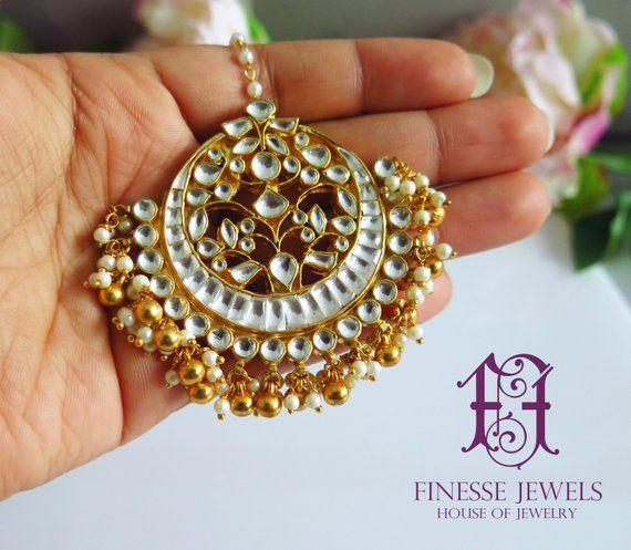 Indian Tikka Bridal Maang Tikka Indian Jewelry Bollywood