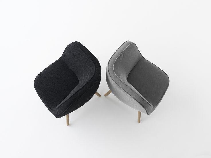 Fritz Hansen - NEW CHAIR. VIA57™ - is designed by Bjarke Ingels in collaboration with Danish design group KiBiSi.