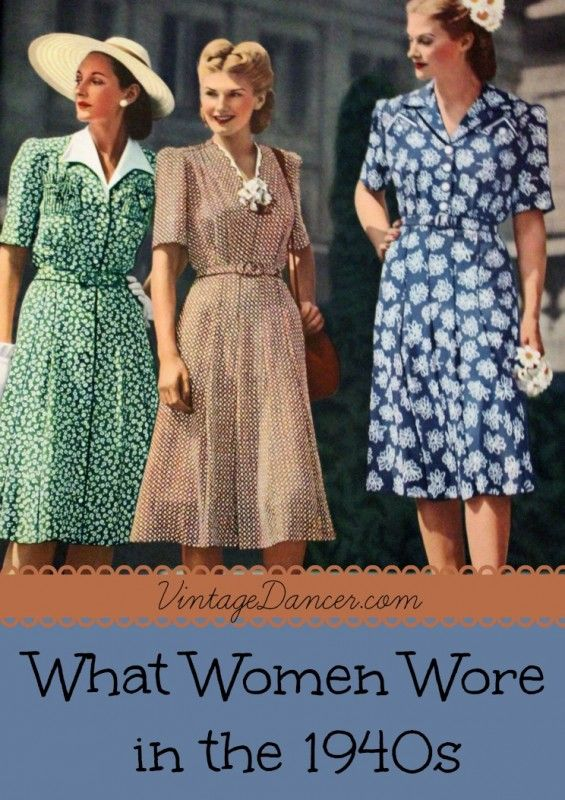 1940's Fashion: What Did Women Wear in the 1940's? - Answered