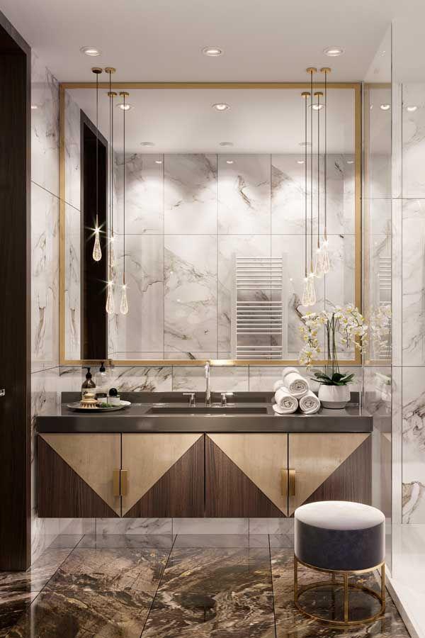 ديكور حمامات وتصاميم حمامات مودرن غاية في الفخامة ديكورات أرابيا In 2020 Bathroom Design Luxury Bathroom Interior Design Bathroom Design Small