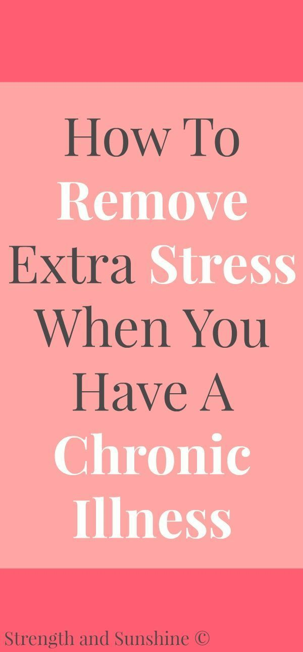 How To Remove Extra Stress When You Have A Chronic Illness | Strength and Sunshine @RebeccaGF666 Living with a chronic illness is stressful enough, but there are some steps we can take to manage extra stress. Here's some tips and ideas on how to remove extra stress when you have a chronic illness. #ad #PhilRx #PMedia