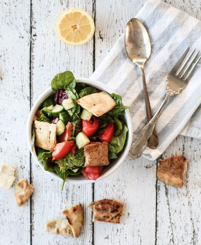 Lebanese Food: A Family Recipe for Fattoush