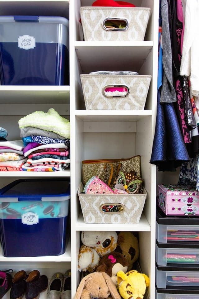 Lately, we've been browsing photos of impeccably organized closets with the same dreamy eyes usually reserved for tropical beaches. (Hmm, maybe we need an organization overhaul and a vacation?) Yep, we're jonesing for containers, cubbies and closet space so we can stay organized all the time, not just after we clean. We took the top storage tips that we've learned from all our daydreams – and put them into action.