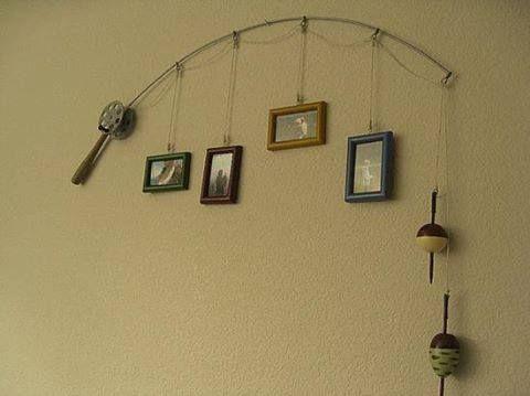 Fishing Poles Fishing And Hangers On Pinterest
