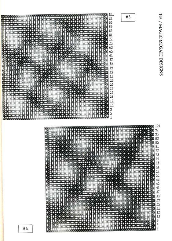 Mosaic Knitting Barbara G. Walker (Lenivii gakkard) Mosaic Knitting Barbara G. Walker (Lenivii gakkard) #198