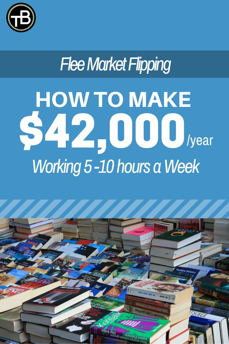 Learn to make money with flea market flipping. It's simple http://thebecomer.com/make-money-flea-market-flipping/