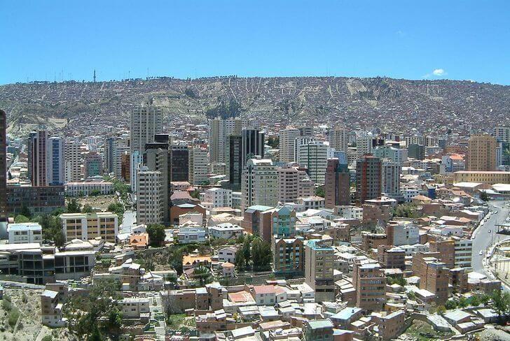 Город Ла Пас