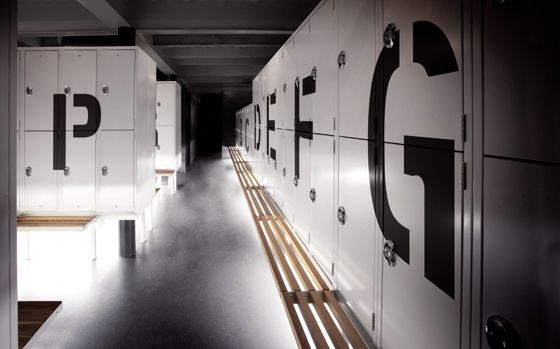 Cool locker rooms. Spa Life: Bota Bota – Montreal | This Beautiful Day