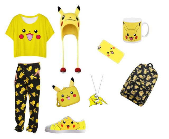 """""""PIKACHU OUTFIT"""" by juliapedersen0 on Polyvore featuring Nintendo and Casetify"""