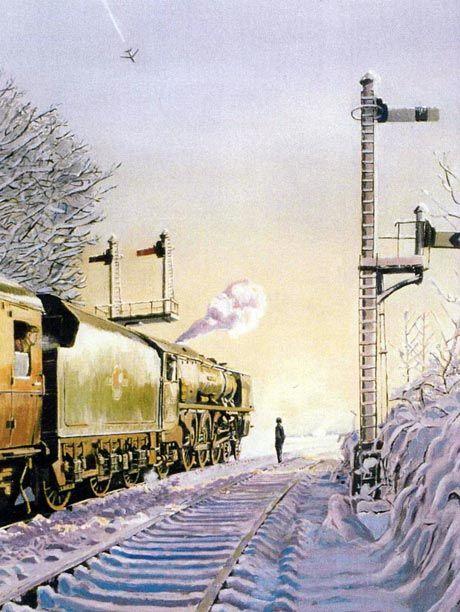 city-of-birmingham Railway Artist - Kevin Parrish