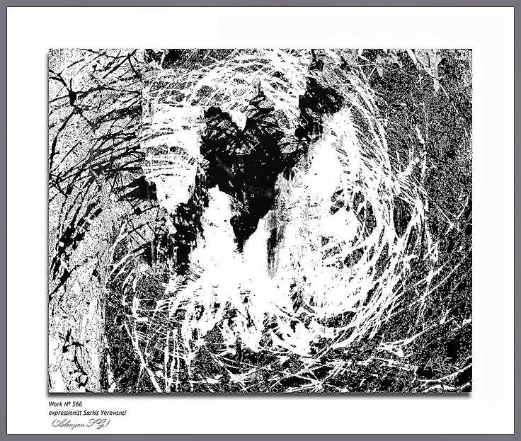 """""""Одинокий верблюд"""" - Изобразительное искусство - Масло, акрил"""