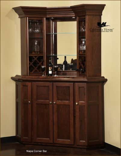small home bars ideas | Home Bar Furniture, Home Corner Bars, Wet Bars, Modern Home Bars