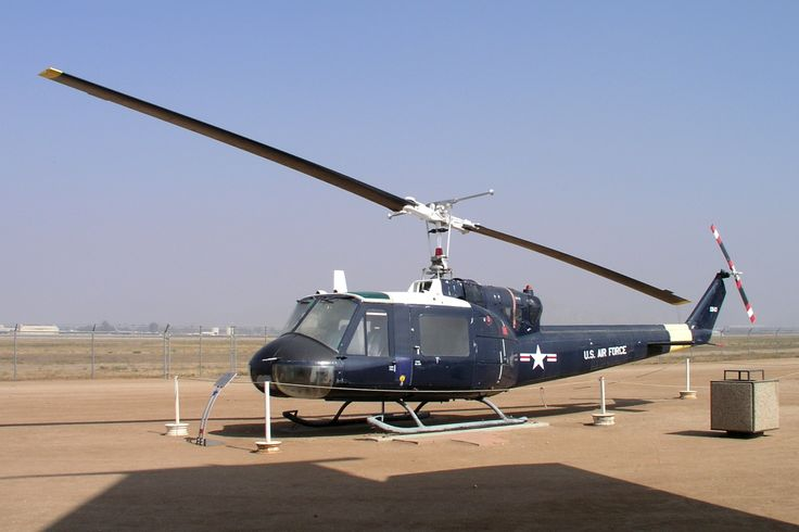 Huey Helicopter 821st Security Police Sq. Ellsworth AFB SD.