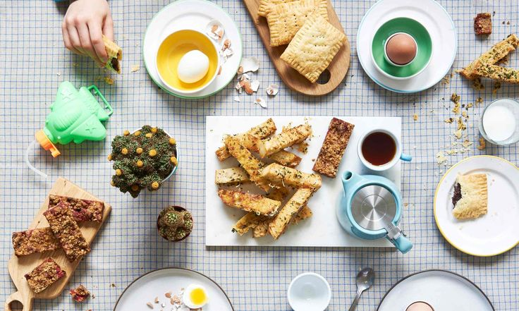 Boiled eggs with buttery herb‑gruyere toast soldiers, homemade pop ...