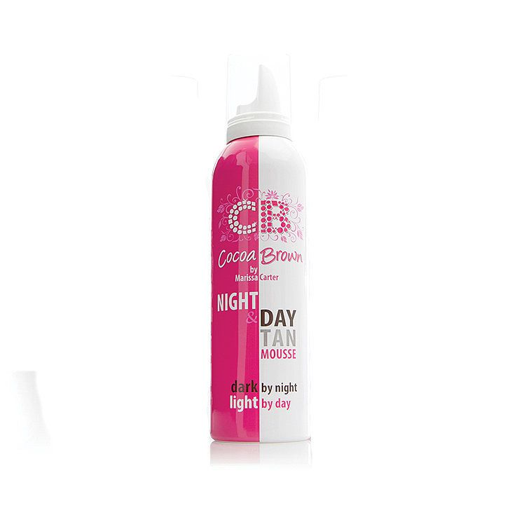Cocoa Brown by Marissa Carter Night and Day Tan Mousse, $19.95