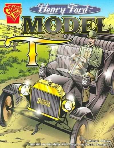 In graphic novel format, tells the story of Henry Ford and his popular Model T automobile--Provided by publisher.