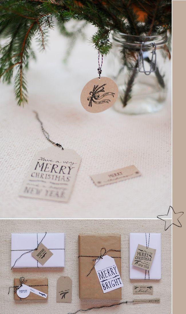 free printable christmas present tags