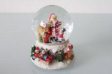 Boule à neige musicale Père Noël 14,5 cm