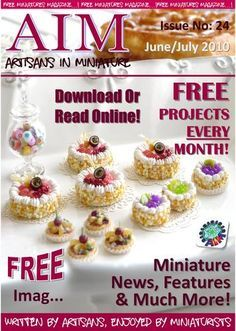 AIM free downloadable magazines with instructions and articles on miniatures included in each issue ... even back issues ...