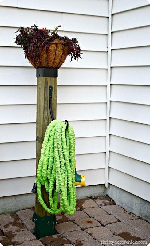 Best 25 Water Hose Holder Ideas On Pinterest Garden