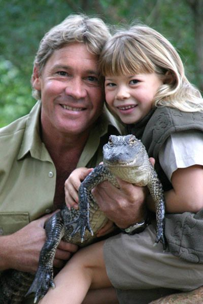 Crocodile Hunter Steve Irwin died on September 4, 2006 at age 44 after being pierced in the chest by a stingray barb.