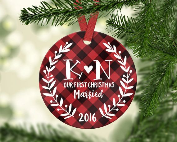 17 best ideas about wedding christmas ornaments on for Engagement christmas tree ornaments