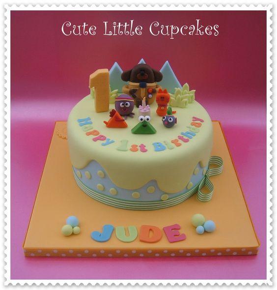 Hey Duggee themed 1st Birthday cake x: