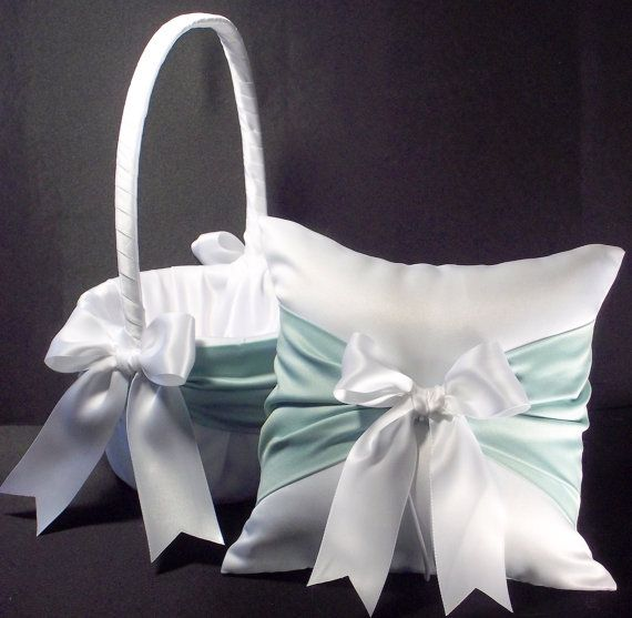 Flower Girl Baskets Green : Best mint weddings jevel wedding planning images