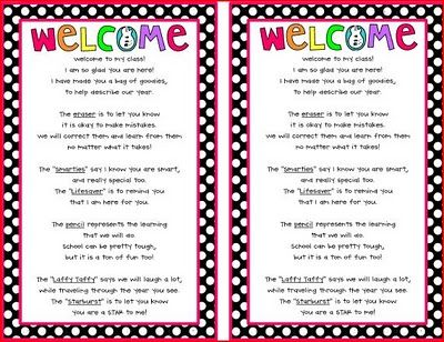 Best 25+ Student welcome letters ideas on Pinterest Kindergarten - sample welcome letter