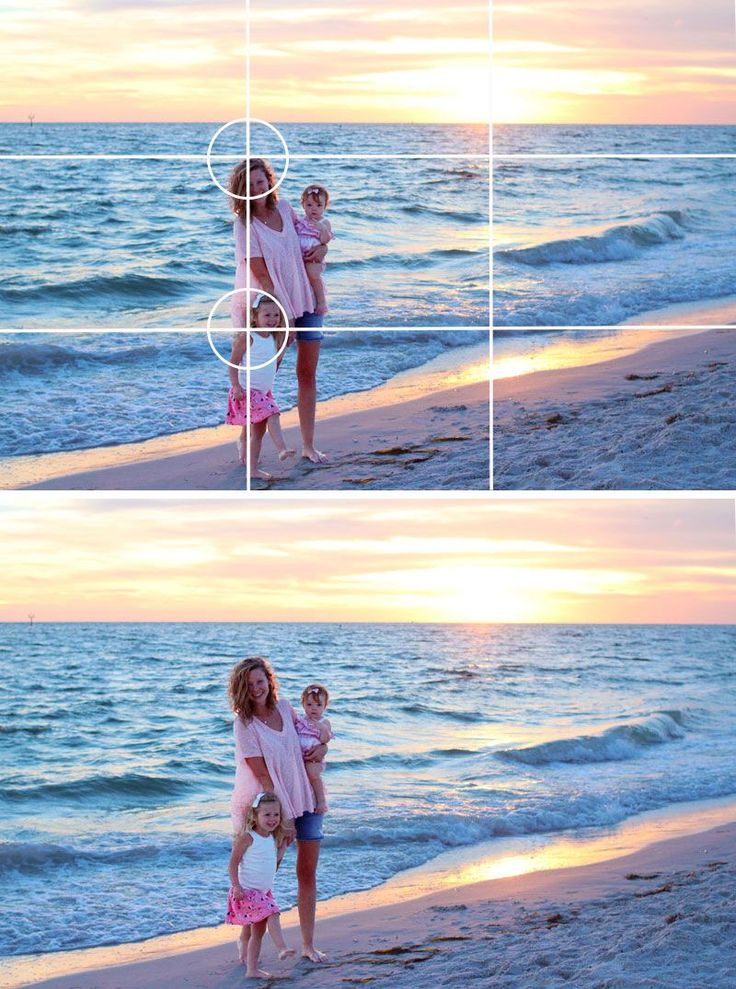 Beach Sunset Portraits! Easy tips for the Best Composition! Pin now and save for your next beach vacation.