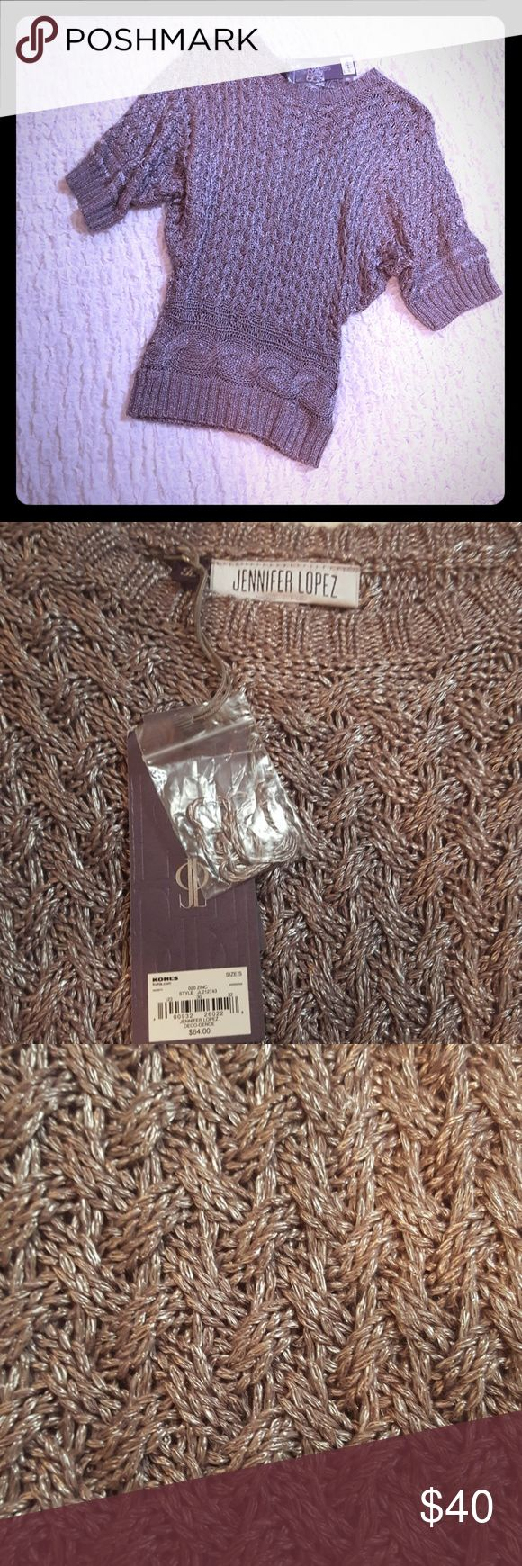 🦉JENNIFER LOPEZ MAUVE SWEATER🦉 Mauve Sweater TAGS STILL ATTACHED  EXCELLENT CONDITION  NEW NEVER WORN Jennifer Lopez Sweaters