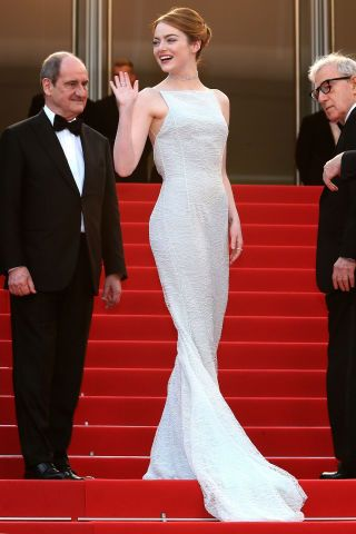 See the best red carpet fashion from Cannes Film Festival here: Emma Stone
