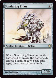 Sundering Titan - Darksteel