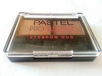Son Çıkan PASTEL ProFashion Eyebrow Duo Kaş Farı blogta! Dumanı tüten yeni bir ürün.. BLOGTA! <3 @pastelcosmetics