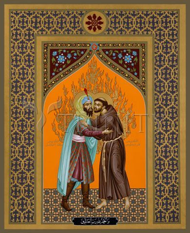 Francis and the Sultan a story for our time http://holyirritant.blogspot.com.au/2014/10/act-justly-love-tenderly-walk-humbly.html