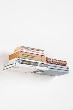 floating book shelvesUrbanoutfitters, Bookshelves, Book Shelf, Urban Outfitters, Invisible Book, Invisible Double, Invi Bookshelf, Book Shelves, Double Book