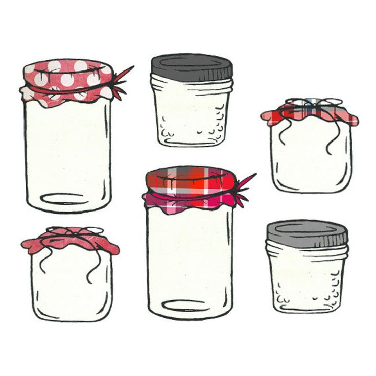 Homemade Jam And Jelly Jar Clipart Mason Jar Clipart Etsy In 2021 Jelly Jars Mason Jar Tattoo Jam And Jelly