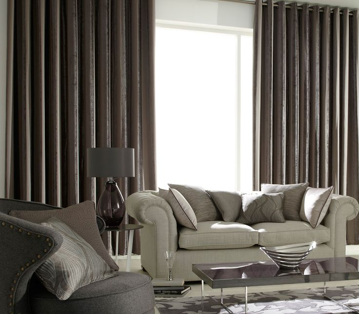 iLiv Boheme Stripe Curtains drape perfectly to display the shimmering textures, reflective plains and embossed velvet features of the fabric. Available in three colours; Mink, Granite and Mocha!