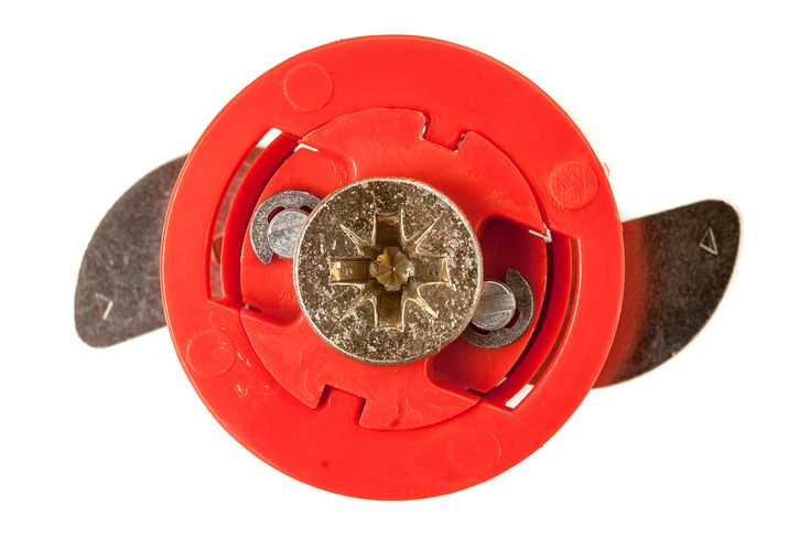 This is our #red fixings at 18mm, this can hold items such as large shelf brackets, bathroom fixtures and heavy curtain rails #redone #innovation
