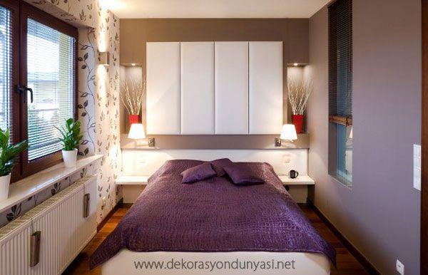 küçük yatak odaları örnekleri