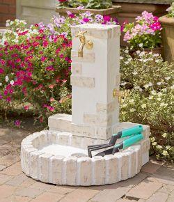 立水栓ユニット リアルウッドスタンドタイプ
