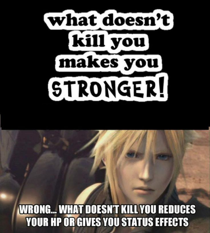 The truth...except you're forgetting about the exp...so it does make you stronger as you level.