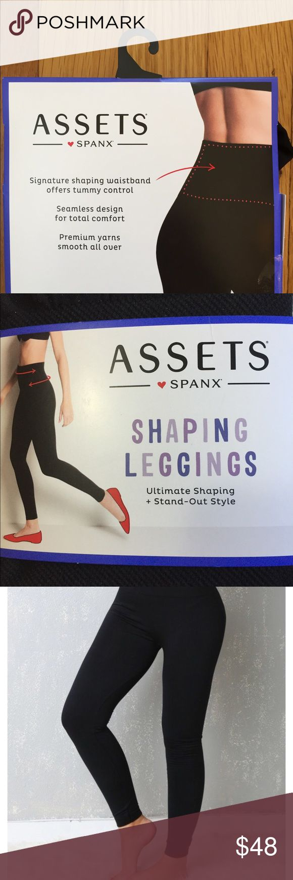 NWT Assets by Spanx Tummy Control Size L Leggings NWT Assets by Spanx Tummy Control  Smooth Seamless Size S Leggings.   •••••This is a FIRM PRICE••••• Assets By Spanx Pants Leggings